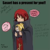 Sasori's Gift to You by maufii