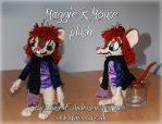 Maggie Mouse plushie by lu-raziel