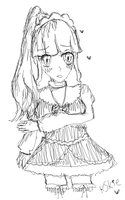 Iku Acme Sketch by Kittyskie