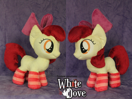 AppleBloom with socks by WhiteDove-Creations
