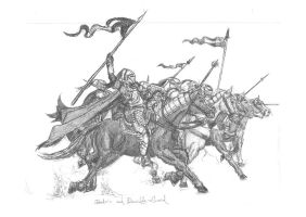 Sebadorn and Cavalry charge by sebadorn