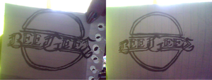 Bee Gees Logo Sketches by L-Rickman-Depp