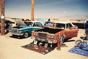 '75-'78 Ford LTD Behind Assorted Trophies by Texas1964