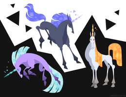 Unicorns by Versiris