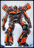 Autobot General Lee by undead-medic