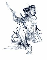 PRINCESS OF WAR by EricCanete