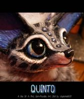 --SOLD-- 'Quinto' The snow-leopard fennec-fox! by stephanie1600