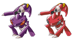 Genesect by Victinit