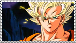 SSJ Goku stamp by VegetasLittleLover