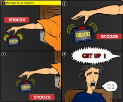 You snooze you lose by hussainadil