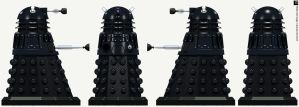 Time War Dalek Sec by Librarian-bot