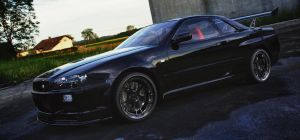 Nissan Skyline GT-R by TheImNobody