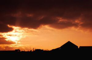 Sunset Over Berlin 71 by ErinM2000