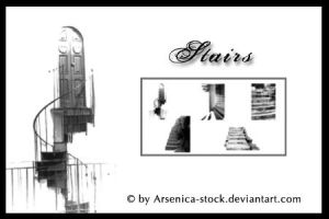 Stairs Brush Set by Arsenica-stock