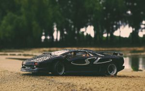 diablo SV on the beach by 5-G
