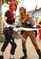 Spellthief Lux and Katarina Cosplay by xEzrealx