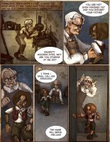 Pinocchio Graphic Novel: Pg 1 by Bouxjie