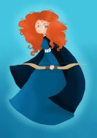 Brave: Merida by Brittany-M