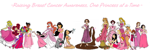 Disney Breast Cancer Awareness by supereilonwypevensie