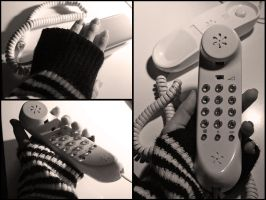 telephone by ELVAge