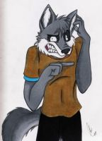 Clane's reaction to tails by Captain-Sparrow