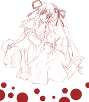 Shinku to drawing by Over-Krl