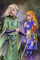 Abel and Elina by Mariposa by iridesia