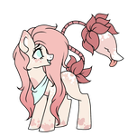 plant pony adopt - open by NikkiKittyx