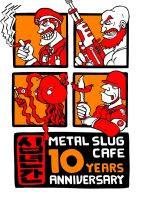 Metal Slug Anniversary Rebel edition by Matmorden