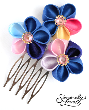 Whimsy Kanzashi by SincerelyLove
