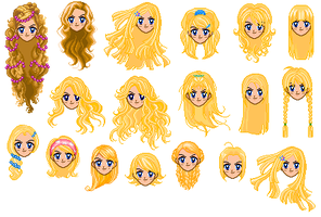 Hair_template_2 by Verdy-K