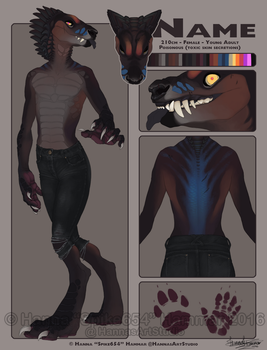 New Character Auction! - OVER by HannasArtStudio