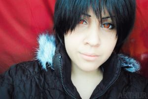 Izaya by arthurcrossplay