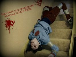 Left4Dead: Hunter - Sweatshirt wearing little wuss by Invader-Jay