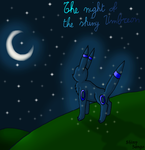 The night of the Shiny Umbreon by ShinyZango