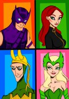 Avengers Animated~Part 3 by Comicbookguy54321