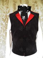 Steampunk-Victorian-Mad Hatter waistcoat PCW13-6 by JanuaryGuest