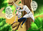 Saff and Rameses sit'en in a tree... by all-the-lovely-death