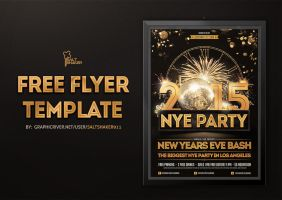 Free New Years Eve Flyer Template by saltshaker911 KSw2VszQ