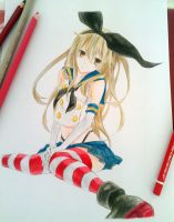 Shimakaze by Enolay