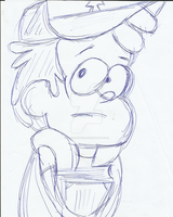 Dibujo Dipper 11 4 2014 by ViviEditions1