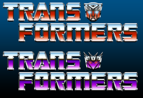 TRANSFORMERS G1 Title Logos by SUPERMAN3D