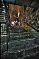 Morbid Stairs to the Ground by ciyzis-kirayzs