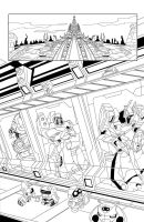 TF Animated Botcon page 2 inks by MarceloMatere