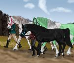 An Afternoon Stroll by SilverBrooke-Stables