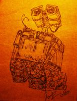 Wall-E by leodragon42