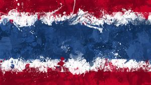 Thai Flag Wallpaper by GaryckArntzen
