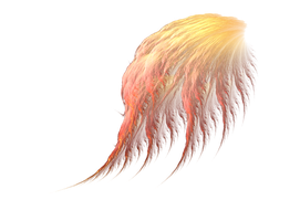 Fluffy wings png by Astrantia01