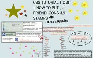CSS Skin Tutorial + Stamp Help by cascade388