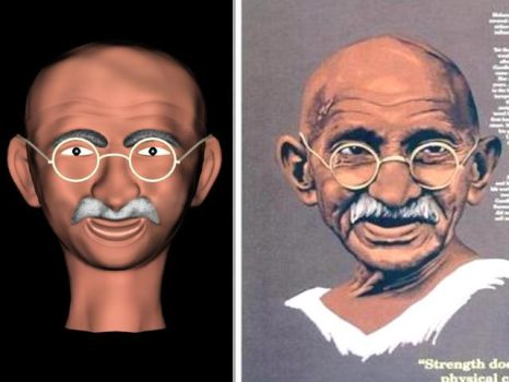 Mahatma Gandhi-Father Of India by bharat